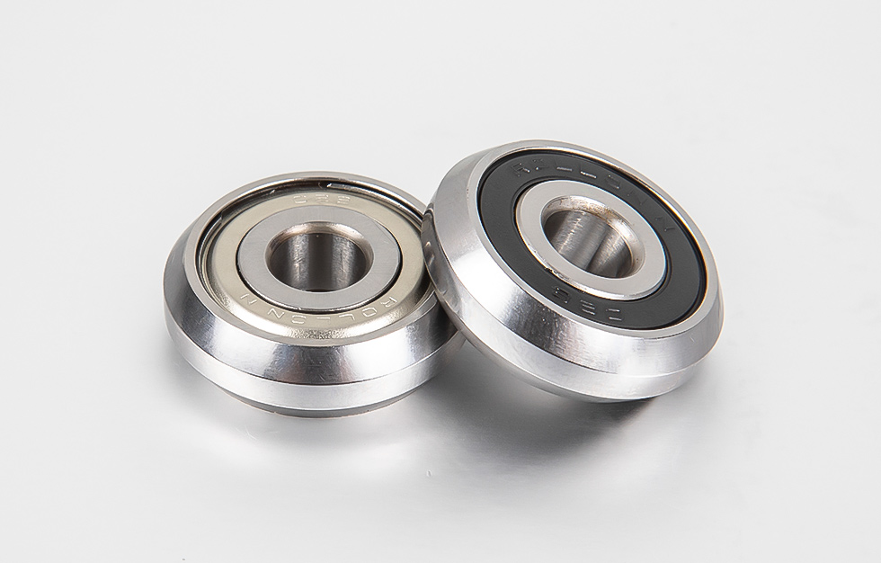 What is the characteristic frequency of rolling bearing failure